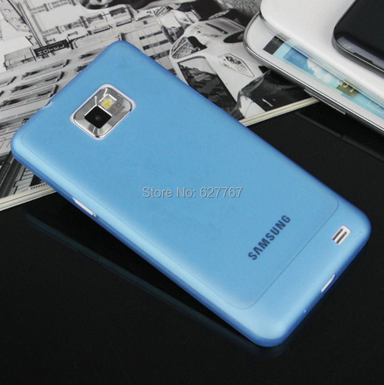 2015 new arrive for Samsung i9100 Galaxy S2 / 0.3 mm Ultra slim high quality case for Phone Case Transparent frosted Phone Case(China (Mainland))