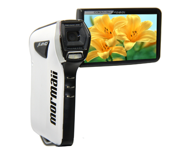"Waterproof Digital Camera Video DV 12mp 1080p Full HD 3.0"" Screen Camcorder White HD-A98(China (Mainland))"