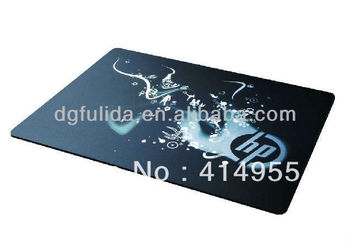 Promotional christmas gift silicon mouse pad