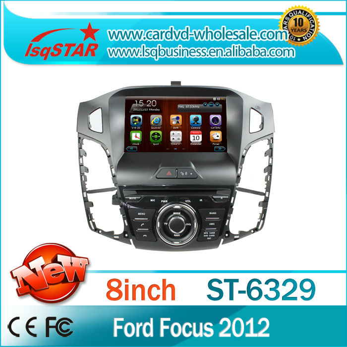"""2014 8"""" car multimedia system for Ford focus 2012 ford 3 with gps radio bluetooth AUX steer wheel USB SD 3g free shipping new(China (Mainland))"""
