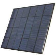 3.5W 6V 583mA Monocrystalline Silicon Epoxy Mini Solar Panel Solar Module System Solar Cells Battery Universal Phone Charger DIY(China (Mainland))