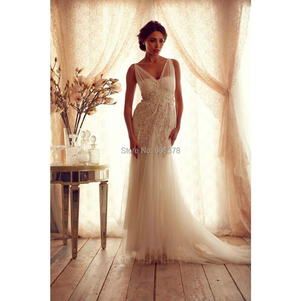 High quality 2015 vintage sheath wedding dresses sheer for Lace sheath wedding dress vintage