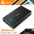 Aukey 20000mAh Fast Charging Power Bank With Dual USB Portable External Battery Pack For iPhone 7