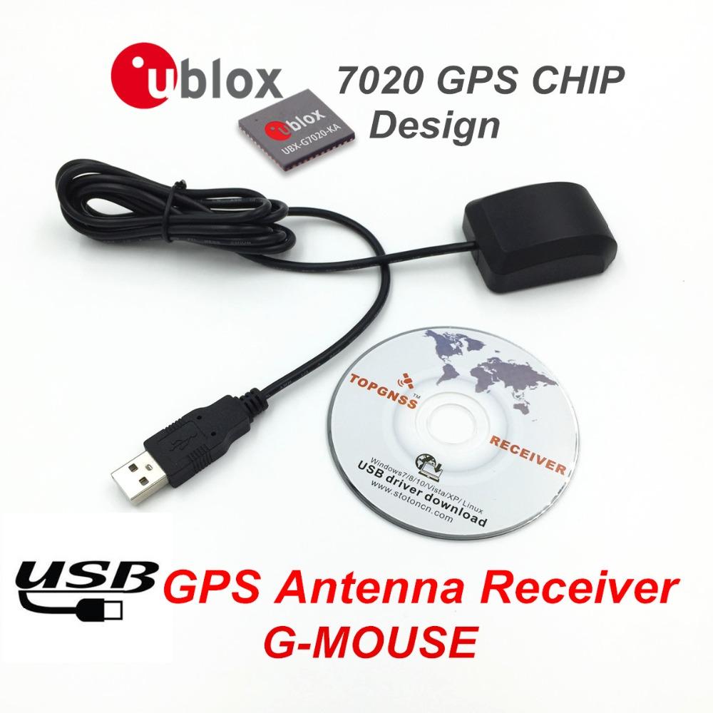 Wholesale Pcs Data Acquisition Pc Notebook Computer Navigation Gps Usb Receiver Gmouse Antenna Module Output Nmea