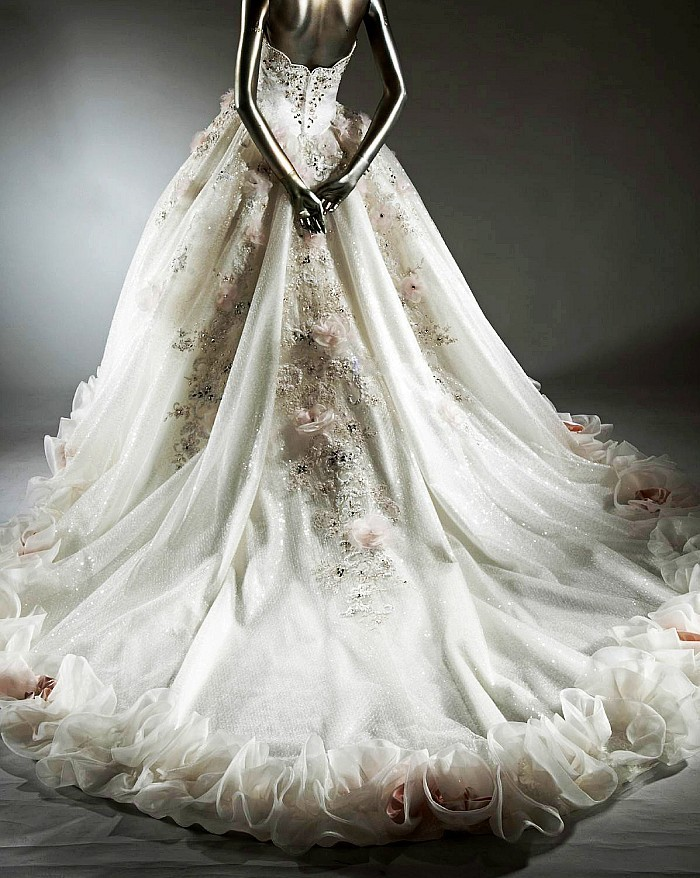 Extravagant Princess Wedding Dresses : Free shipping bandage princess wedding dress chinese