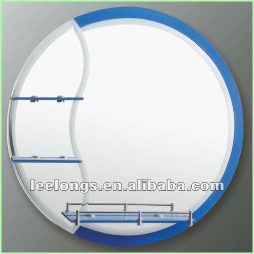 Colorfull Life Colorful Small Sand Blasting  Bathroom MIrror