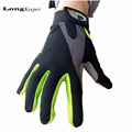 LongKeeper Fashion Kiss Screen Gloves Gym Sport Full Finger Gloves for Men Women Fitness Work Out
