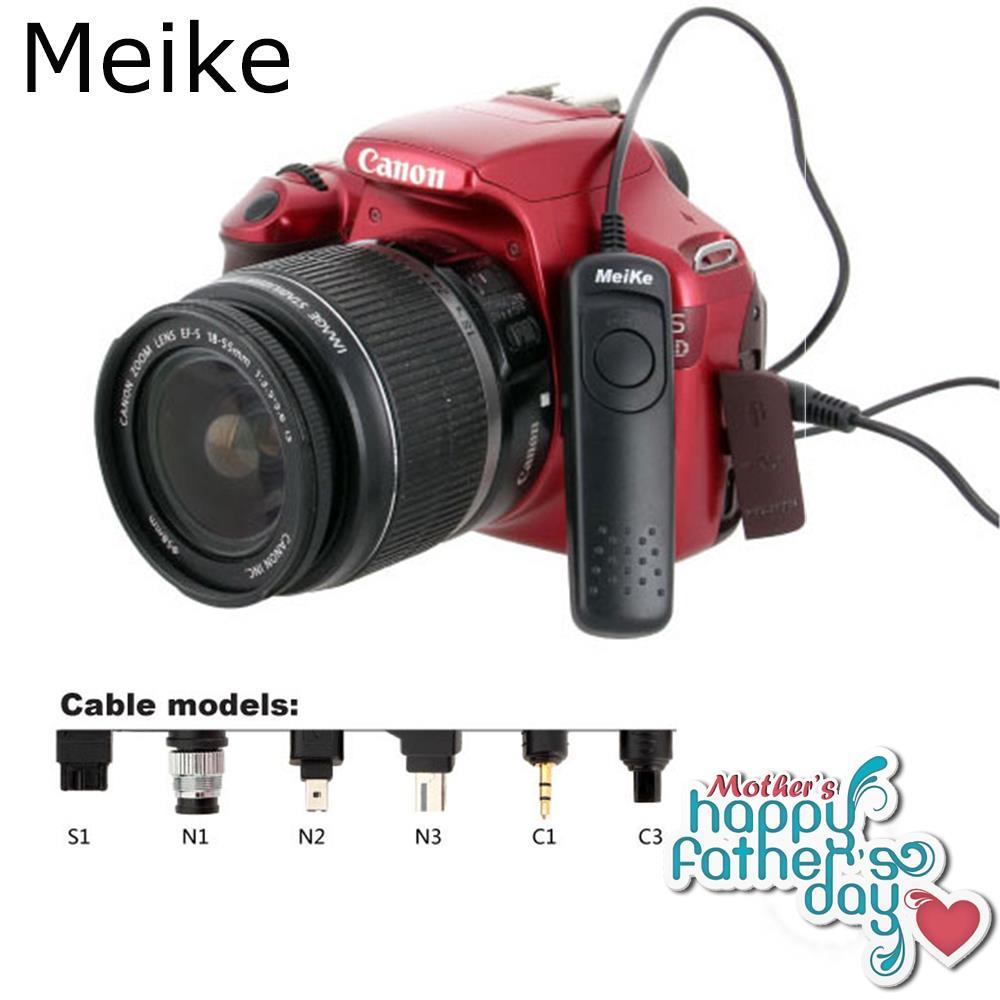 Meike Wired Shutter Remote Control suit For Nikon D750, D7100, D7000, D5300, D5200, D5100, D5000, D3300  N3 as MC-DC2