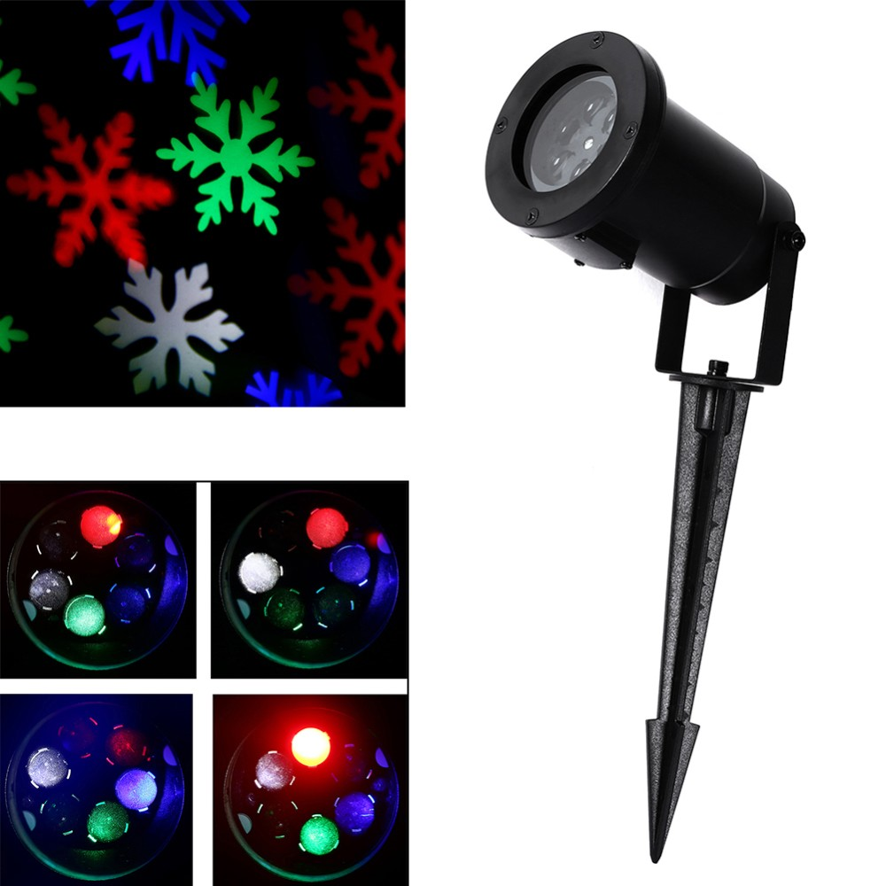 Wall Decoration Laser Lights : Led laser light sparkling landscape projector waterproof