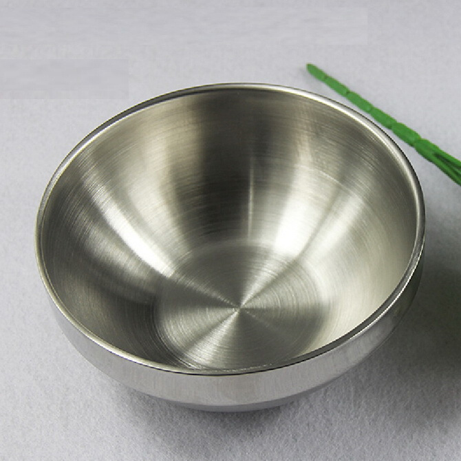 Thick 3mm stainless steel bowl beat egg salad bowl cooking baking bowl new arrival(China (Mainland))