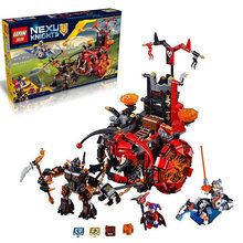 LEPIN 14005 Nexo Knights Jestro's Evil Mobile Combination Marvel Building Blocks Kits Toys Minifigures Compatible Nexus - Luckk toy store 3 Store