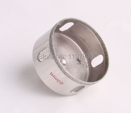 Free shipping of professional quality 2 steps marble hole saw core bit 60*65mm for drilling marble/vetrified tiles /ceramics(China (Mainland))