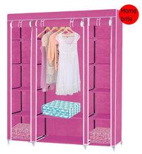 Simple Wardrobe,Size 53 X 17.5 X 69 inches HG017(China (Mainland))