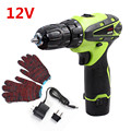 12V Electric Screwdriver Lithium Battery Rechargeable Parafusadeira Furadeira power tools screwdriver Cordless Electric Drill