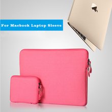 Buy Laptop Sleeve Apple Macbook Air 11 13.3 15 portable ultra-slim canvas Laptop Bags Macbook Pro retina protective sleeves for $12.83 in AliExpress store