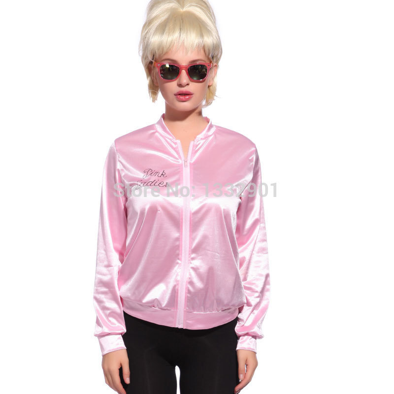Cheap Pink Ladies Jacket Grease