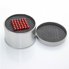 Hot vente 5 mm taille 216 Magnetic Balls qualité N35 magie jouet Puzzle aimant bloc Cubo Magico jouets éducatifs Box + métallique + sac + carte(China (Mainland))