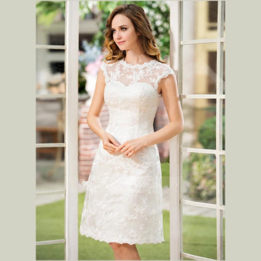 Short Wedding Dresses For Sale 38