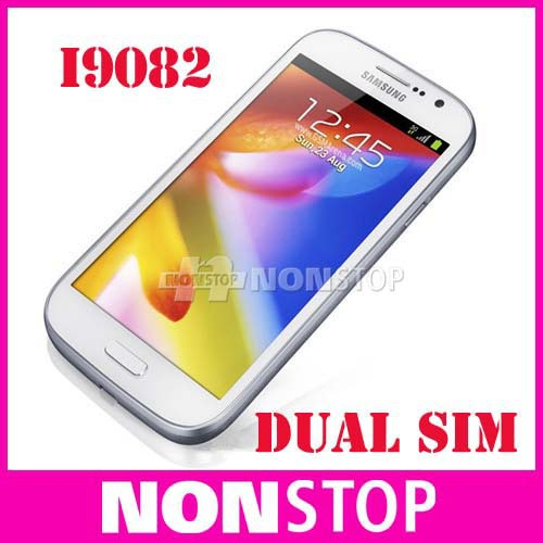 "Original Dual SIM Samsung Galaxy Grand Duos i9082 android 4.1 mobile phone 5.0"" touch+8.0 MP+WIFI+GPS Refurbished(China (Mainland))"