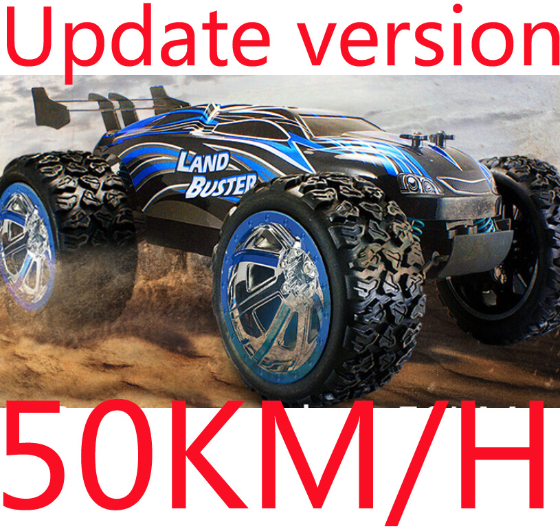 Big Size !! 4CH Drifting Drive 4WD High Speed 50KM/H RC Truck Land Buster RC Truck Remote Control Super Power Off-Road Vehicle(China (Mainland))