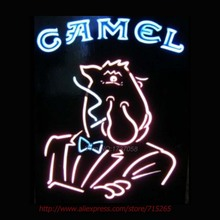 CAMEL Neon Sign Store Display Handcrafted Neon Bulbs For Bar Beer Bar Pub Real Glass Tube Advertise Affiche Neon Light 31x20(China (Mainland))