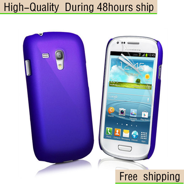 New Hybrid Plastic Hard Case Cover for Samsung Galaxy S III S3 Mini i8190 Free Shipping UPS DHL EMS HKPAM CPAM