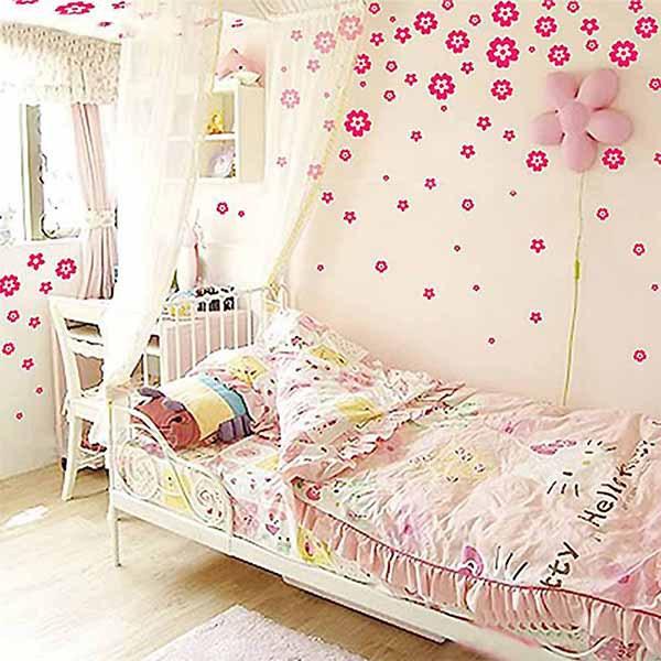 Diy Vinyl Wall Art Contact Paper : Pcs set home decor diy wall stickers for kids rooms