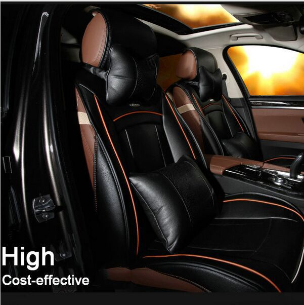 SuperPower 10pcs Set Car Cover Four Seasons Universal Front &Rear Complete Set  Car Seat Covers(China (Mainland))