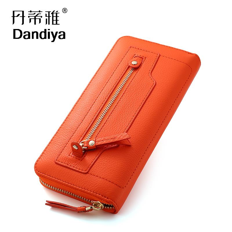 Fashion Women New Wallets Ladies Leather Wallet Purses Long Leather Wallet Female Leather Coin Purse Wallet Zipper Card Pack(China (Mainland))