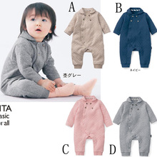 Winter Baby Boys Girls Warm Romper Kids Long Sleeve Jumpsuit Newborn Conjoined Creeper Cotton Baby Body Suit Clothes(China (Mainland))
