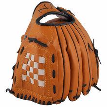 New Portable Dark Brown Durable Men Softball Baseball Glove Sports Player Preferred HY#8477(China (Mainland))