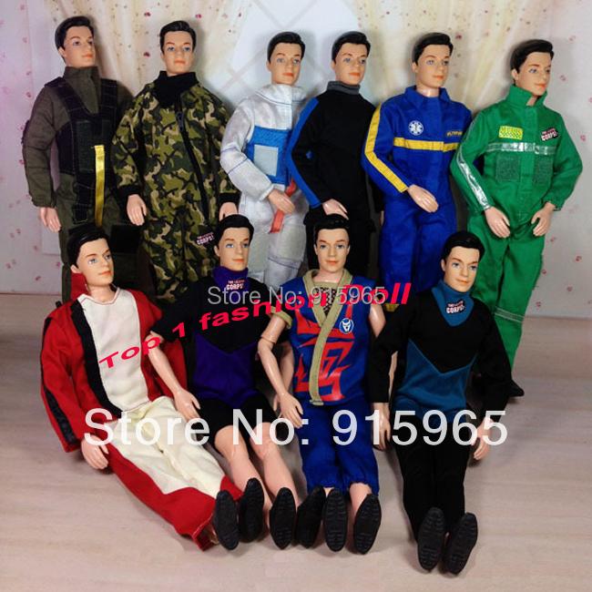 50items=25 suits+ 25pair shoes slot wholesales Fashion suit Clothes set for 1/6 BJD doll boy friend(China (Mainland))