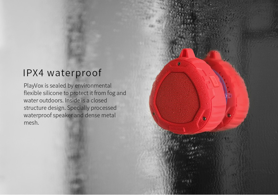 Portable Outdoor Bluetooth 4.0 Speaker Music Subwoofer + Phone charge Powerful IPX 4  Waterproof Mini Portable Wireless Speakers
