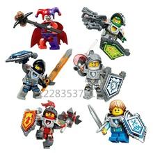 Single Sale 2016 New Nexo Knights Minifigures Building Blocks Figures Model Bricks Toys Chilren Gift(China (Mainland))