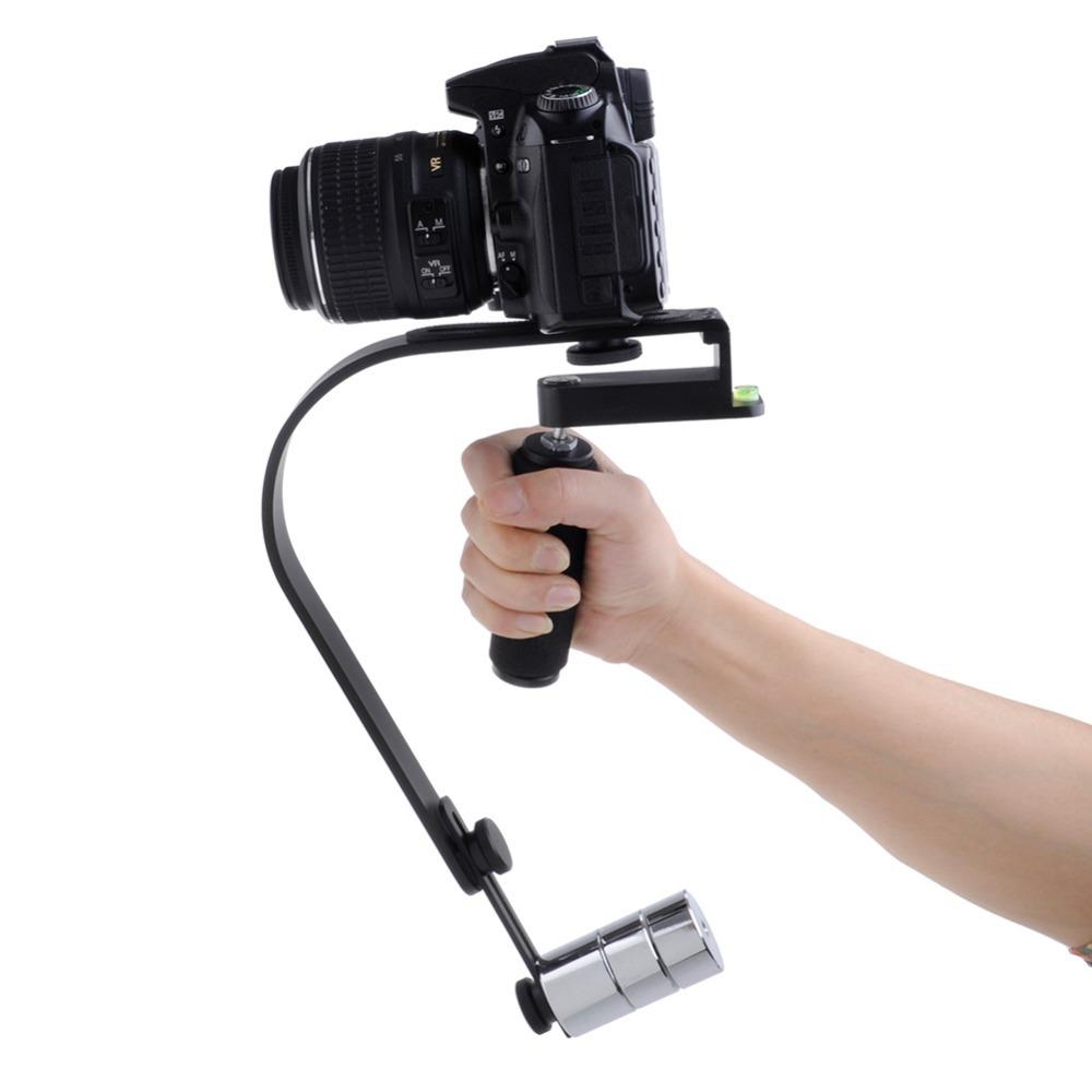 Neewer Black Handheld Stabilizer Video Steadicam for Canon Nikon Sony Pentax Digital Camera DSLR Camcorder DV Free Shipping(China (Mainland))