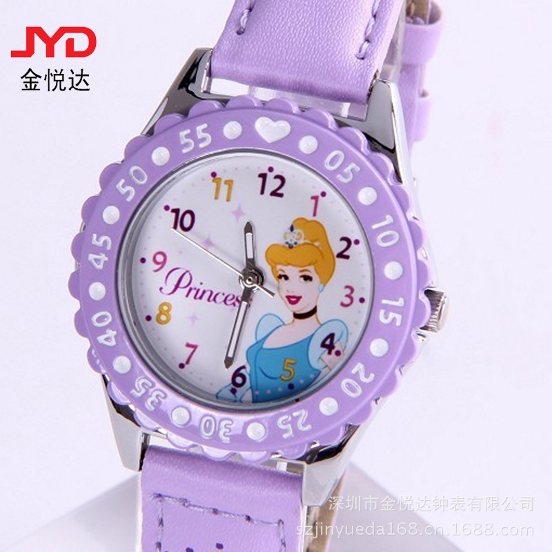 Watches Saat Watch Source Manufacturers Specializing In The Production Of Girls Cartoon Watch Super Cheap Gifts Children's Table(China (Mainland))