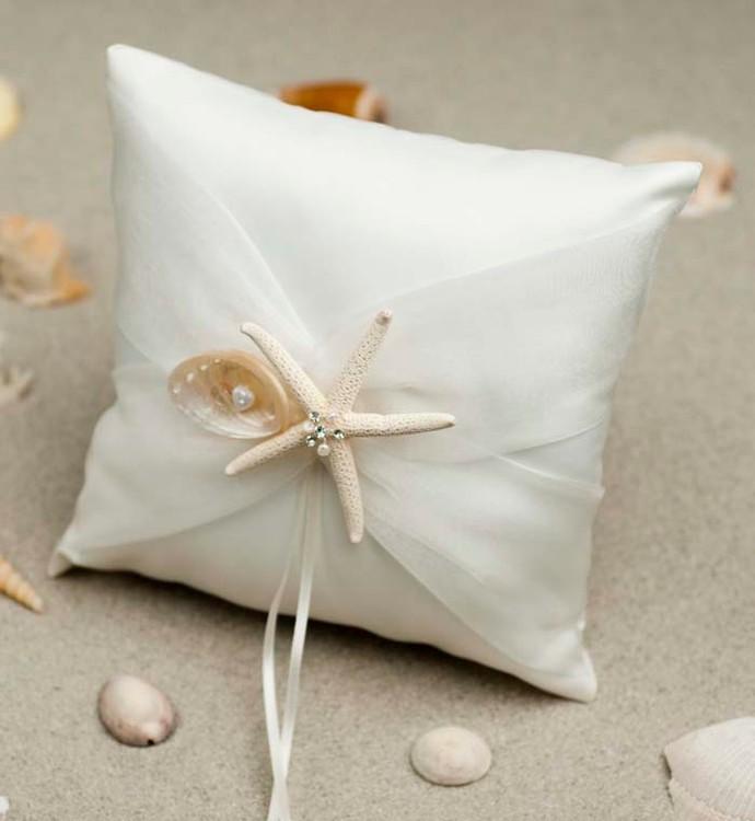 Starfish faveurs de mariage de mariée Satin Robbin porteur anneau ...