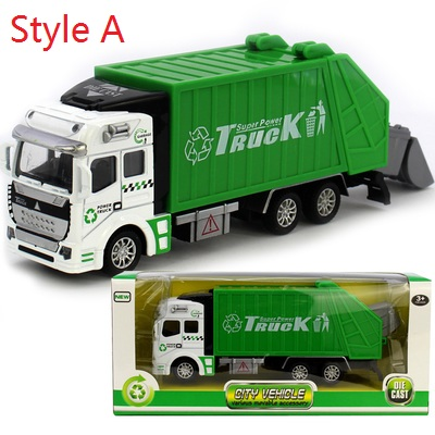 Mini Diecast ABS Material Delicate pull back Toy Car Garbage truck Watering Transport Vehicle Model Gift baby 1pc(China (Mainland))