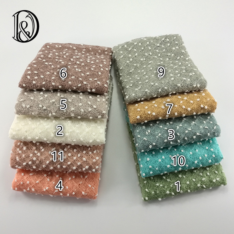 75*50cm Knit Bobble Wraps Mini Small Ball Vintage Style Newborn Photography Props Swaddlings Padding Nubble Wraps(China (Mainland))