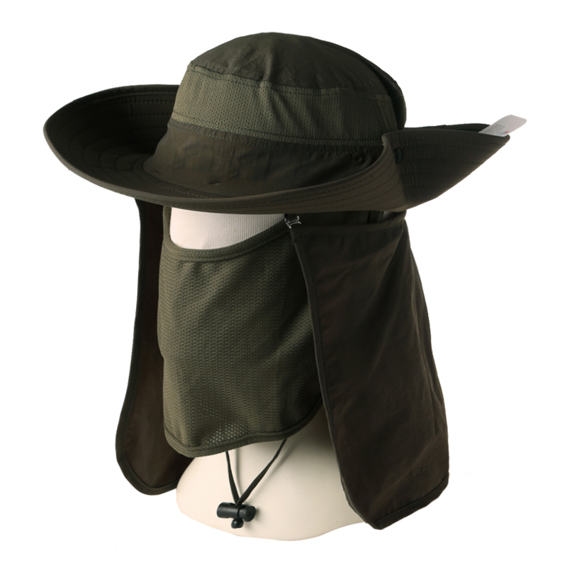Man women sports trave winter sun outdoor protection for Womens fishing hat