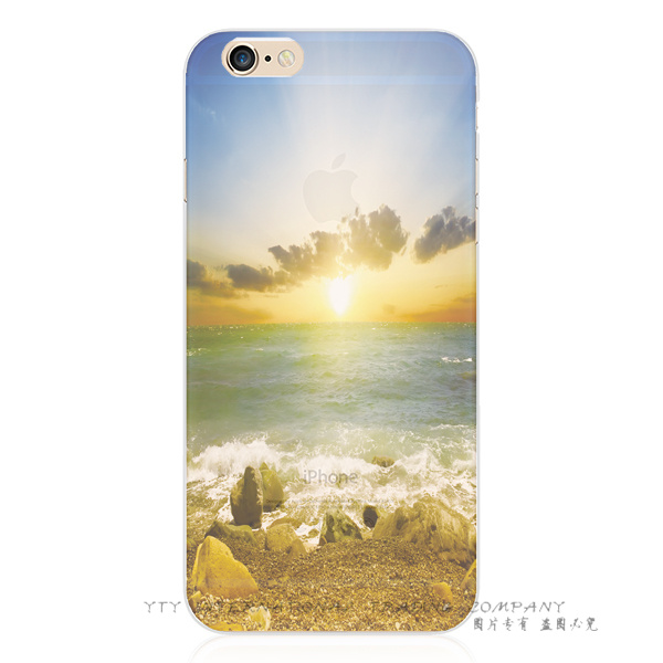 Brilliant Sun Sea Wave River Silicon Phone Cover Cases For Apple iPhone 5C iPhone5C Case Shell OPR ANR EWAA TKSI