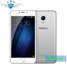 Original Meizu M3S 5.0 Inch 4G FDD Cell phones MTK6750 Octa Core 3GB RAM 32GB ROM 3020mAh 13MP Fingerprint Metal Body(China (Mainland))