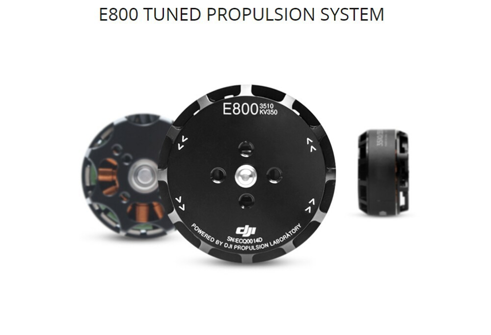 Original DJI E800 Tuned Propulsion System(Motor/ESC / Props /Accessories pack,Updater for ESC) Original DJI product