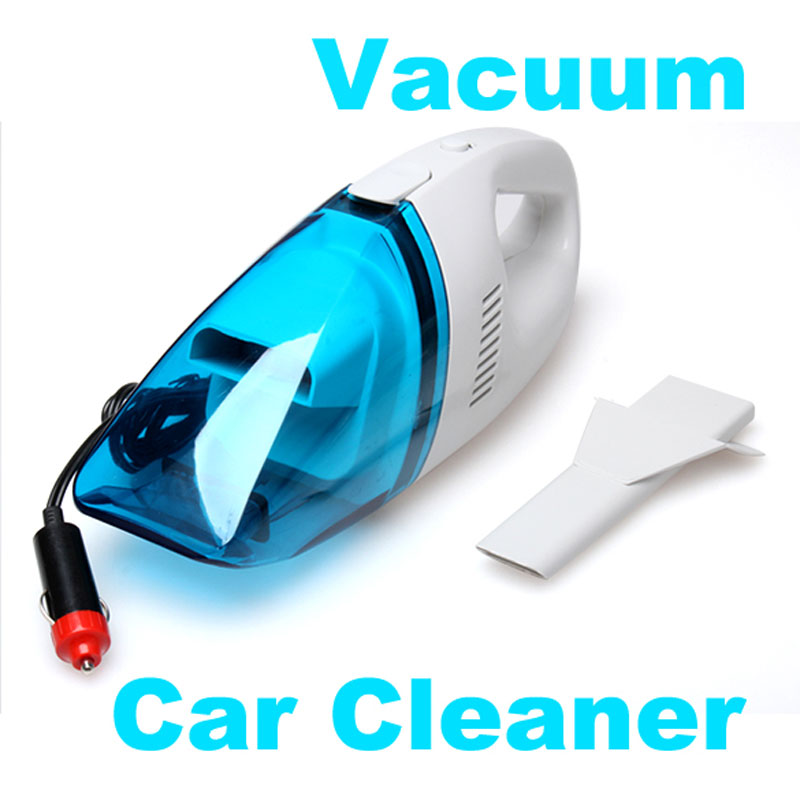 Portable Car Vacuum Cleaner Mini Handheld Dust Collector 60W Cordless Powerful suction lightweight with washable filter(China (Mainland))