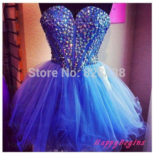 Hot!2014 Cute Sweet 16 Dresses Purple A-line Beaded Sparkly Corest Short Homecoming Dress,Semi Formal Gown,Dress For Party W-918(China (Mainland))
