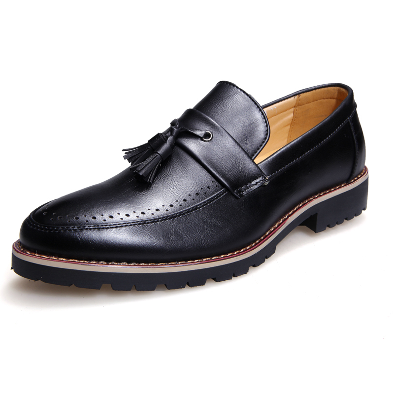 men famous brands genunie leather derby shoes 2015 uomo chaussure zapatos hombre casual oxford luxury flat shoes for men <br><br>Aliexpress