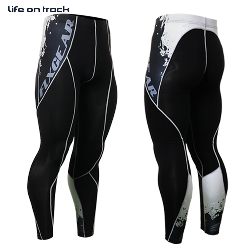 2016 Men Cycling Pants Bottoms Printing Design Running Activities Sports Bicycle Tops Skins Tights Cycle Trousers For Male(China (Mainland))