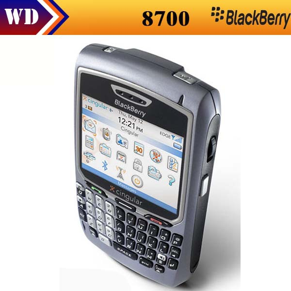 Unlocked Original Blackberry 8700 Cell Phone,Curve WI-FI phone Free shipping Refurbished(China (Mainland))