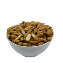 250g Brazil Pine Nuts Natural Delicious Casual Leisure Snack Organic Green Dried Fruit Food Kernel Nut