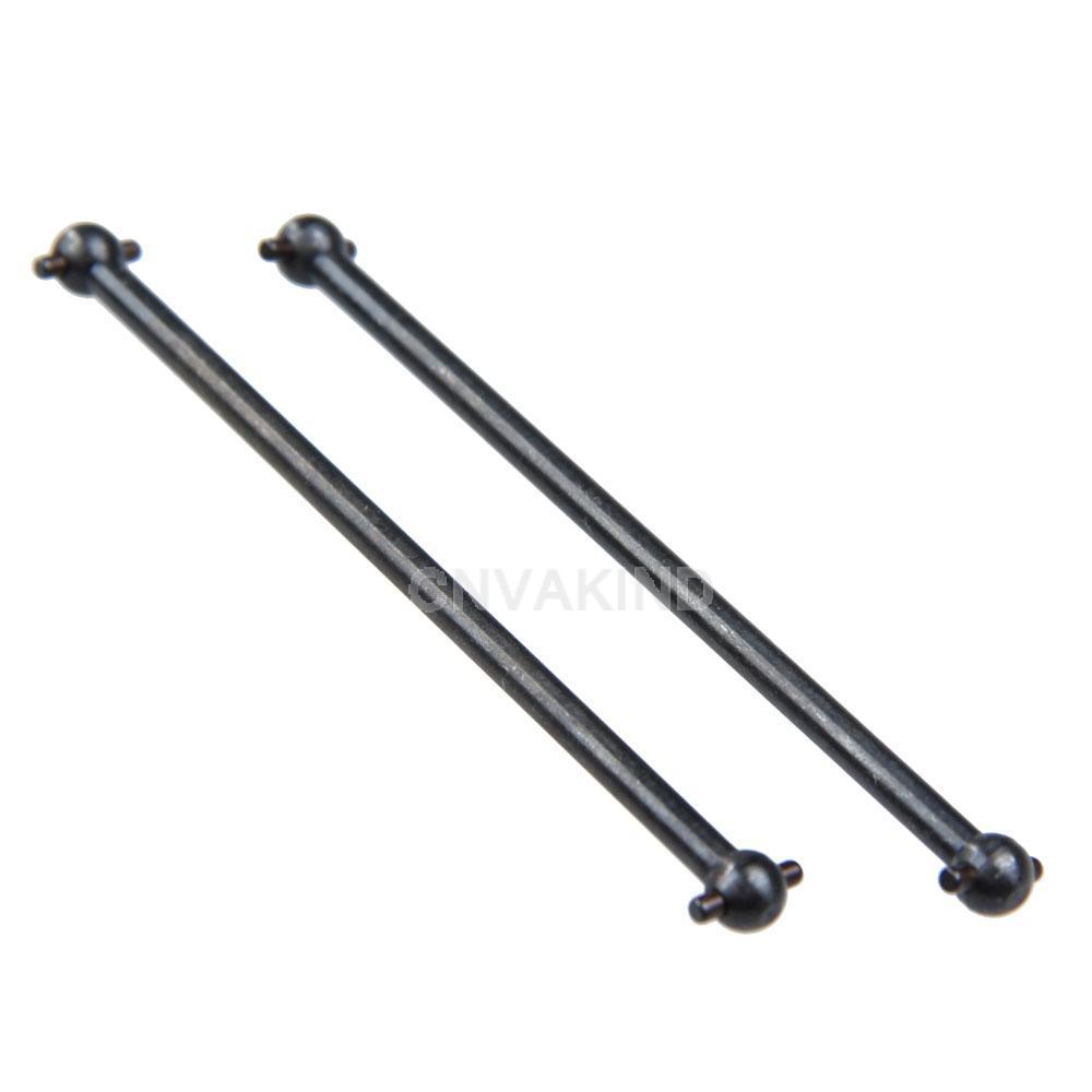 Гаджет  #Cu3 2Pcs HSP 1/10 RC Model Car 08059 Spare Parts Dog Bone Drive Shaft 89.5mm None Игрушки и Хобби